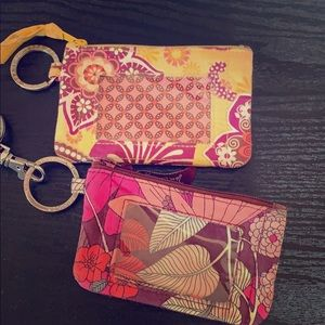 Vera Bradley ID holders and Lanyard